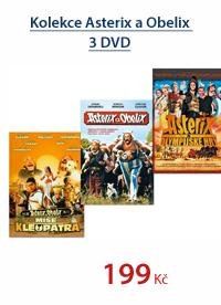 Kolekce Asterix a Obelix 3 DVD