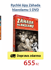 Rychlé šípy Záhada hlavolamu 5 DVD