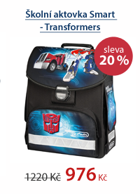 Školní aktovka Smart - Transformers
