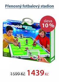 Přenosný fotbalový stadion - Playmobil