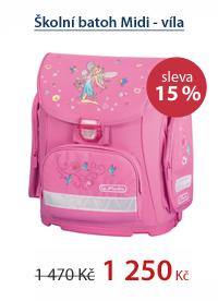 Školní batoh Midi - víla