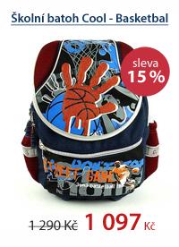 Školní batoh Cool - Basketbal
