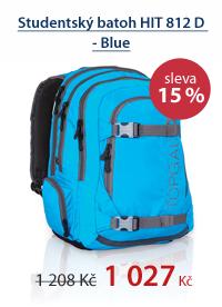 Studentský batoh HIT 812 D - Blue