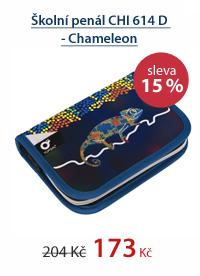 Školní penál CHI 614 D - Chameleon