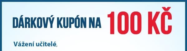Dárkový kupón na 100 Kč