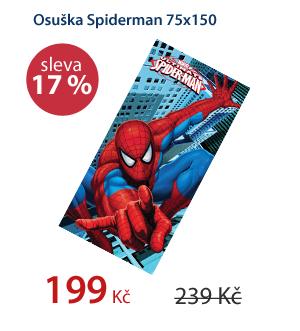 Osuška Spiderman 75x150