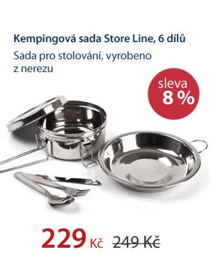 Kempingová sada Store Line 6 dílů