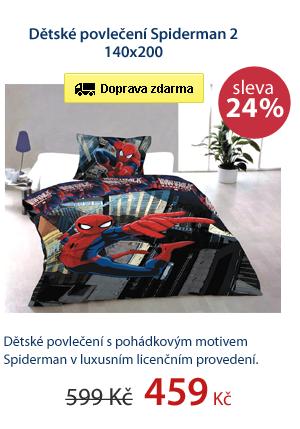 Dětské povlečení Spiderman 2 140x200