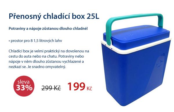 Přenosný chladící box 25L