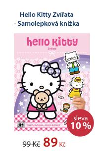 Hello Kitty Zvířata - Samolepková knížka