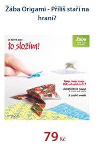 Žába Origami - Příliš staří na hraní?
