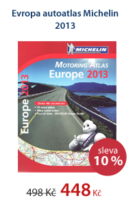 Evropa autoatlas Michelin 2013