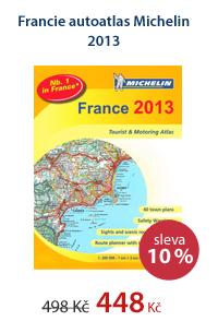 Francie autoatlas Michelin 2013