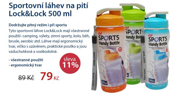 Sportovní láhev na pití Lock&Lock 500ml modrá