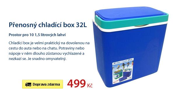 Přenosný chladící box 32L