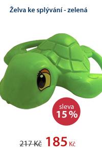 Želva ke splývání - zelená