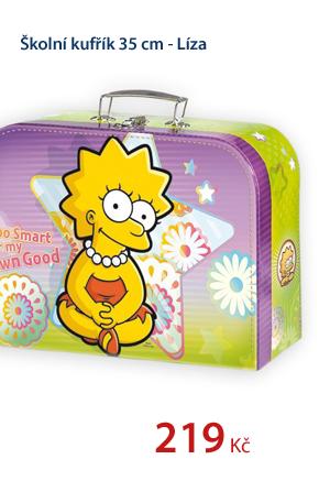 Školní kufřík 35 cm - Líza