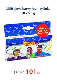 Obličejové barvy Jovi - tyčinka 10 x 5,6 g