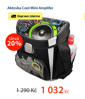Aktovka Cool Mini Amplifer