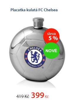 Placatka kulatá FC Chelsea