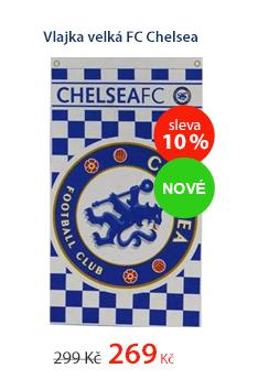 Vlajka velká FC Chelsea