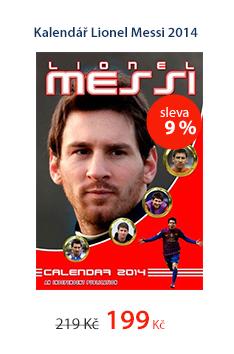 Kalendář Lionel Messi 2014