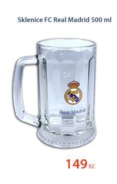 Sklenice FC Real Madrid 500ml