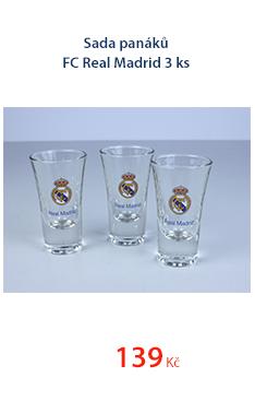 Sada panáků FC Real Madrid 3ks