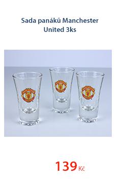 Sada panáků Manchester United 3ks