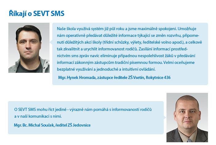 Co říkají o službě SEVT SMS