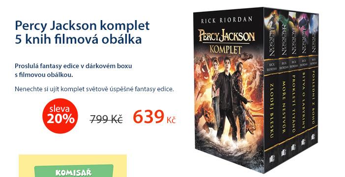 Percy Jackson komplet 5 knih