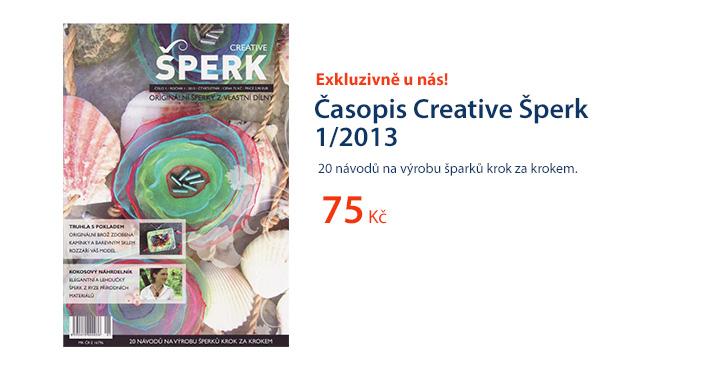 Časopis Creative Šperk 1/2013