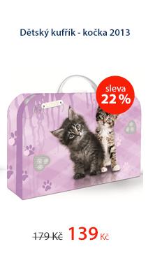 Karton PP Dětský kufřík lamino - Kočka