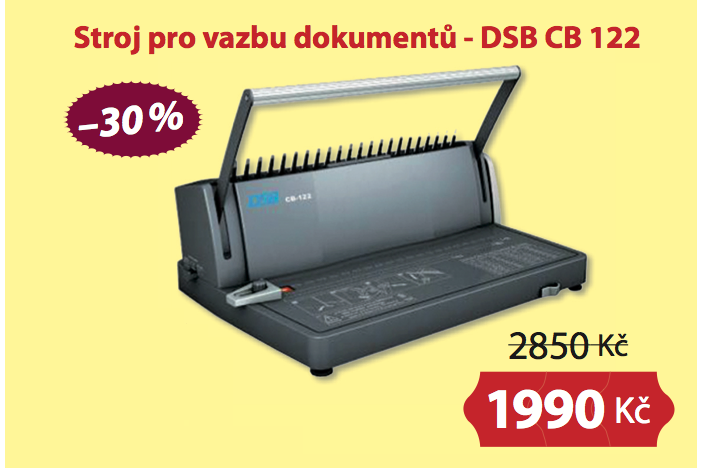 Stroj pro vazbu dokumentů - DSB CB 122