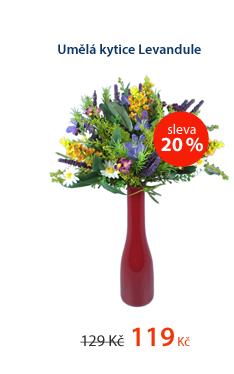 Umělá kytice Levandule