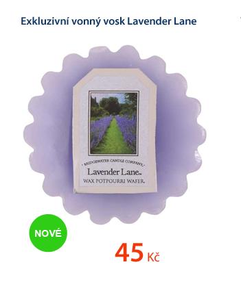 Exkluzivní vonný vosk Lavender Lane