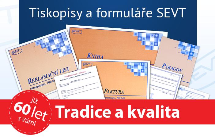 Tiskopisy SEVT - tradice a kvalita - již 60 let