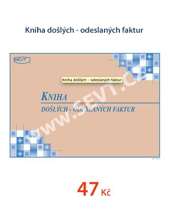 Kniha došlých - odeslaných faktur