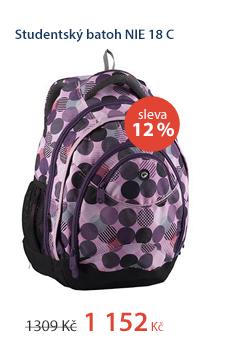 Studentský batoh NIE 18 C