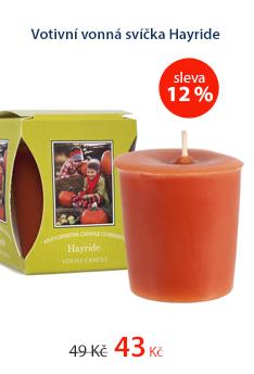 Votivní vonná svíčka Hayride
