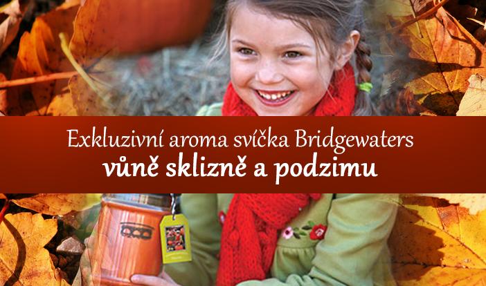 Exkluzivní aromasvíce Bridgewaters  - vůně sklizně a podzimu