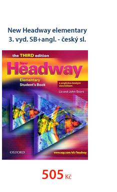 New Headway elementary 3.vyd. SB+angl.-český sl.