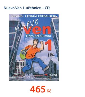 Nuevo Ven 1-učebnice +CD