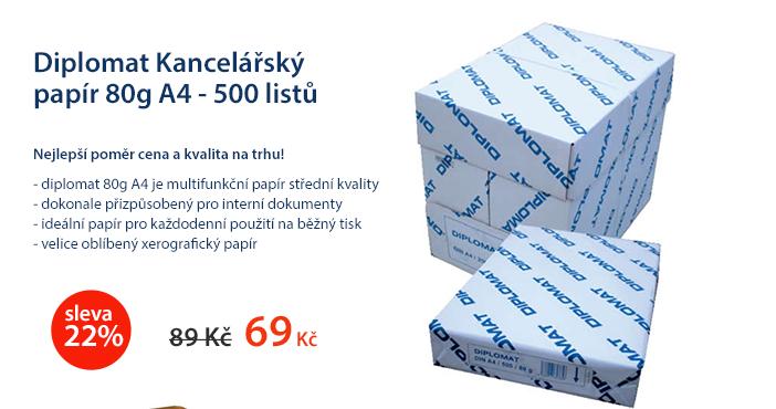 Diplomat Kancelářský papír 80g A4 - 500 listů