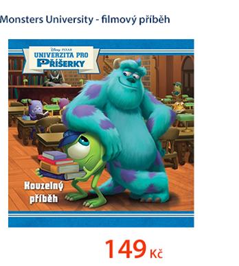 Monsters University - filmový příběh