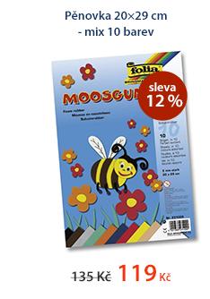 Pěnovka 20×29 cm - mix 10 barev