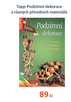 Topp - Podzimní dekorace z různých přírodních materiálů