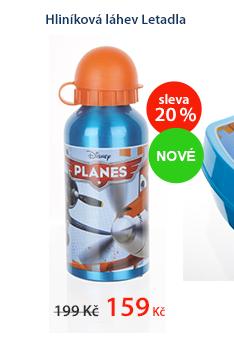 Hliníková láhev Letadla