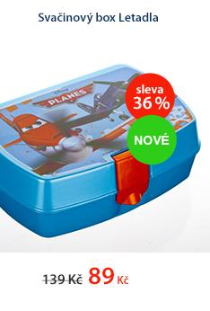 Svačinový box Letadla