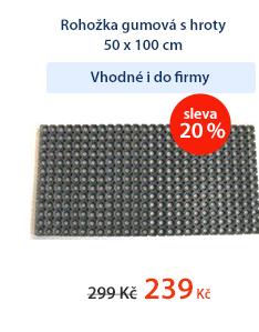 Rohožka gumová s hroty 50 x 100 cm